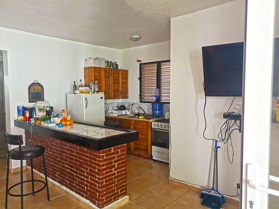 Sosua, Dominikánská republika: Full kitchen (2BR apt)