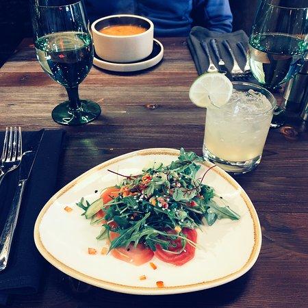 Salad starter (lunch menu)