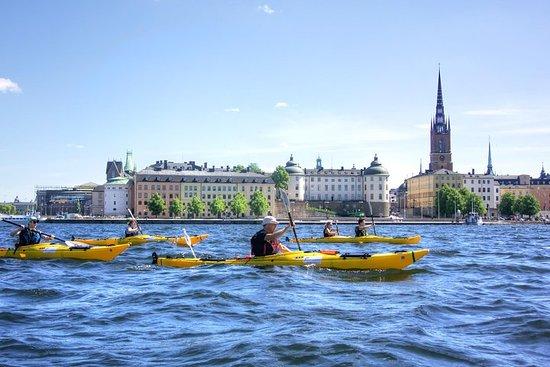 Kajaktour im Zentrum von Stockholm