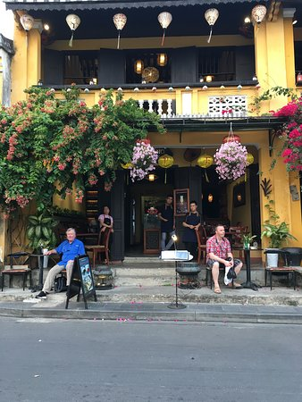 Relaxing With a Cold Drink & Taking In Hoi An's Gorgeous Views