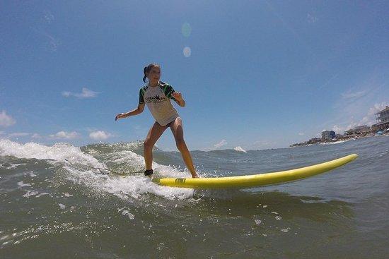 Leçon de surf de 90 minutes à Folly Beach's Washout