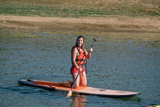 Stand up paddle tour en el Montado de Sobro - Bosque del corcho