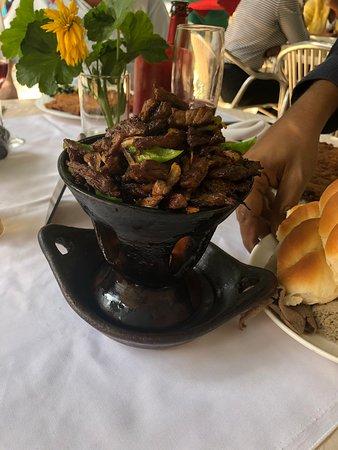 Jimma, Эфиопия: Traditional Lunch