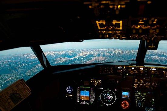 60 minuten simulatorvlucht Foto