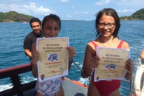 Bubblemaker, diving for youngsters, 8 and 9 years old ( Start at Ko...