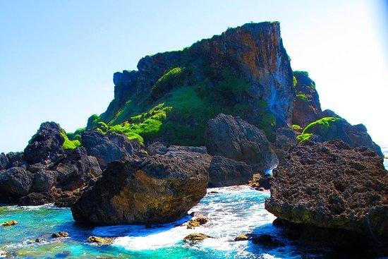 Verboden eiland met grotto snorkelen