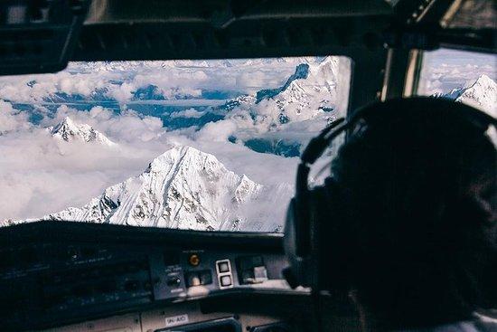 Foto de Vuelo panorámico sobre el Himalaya, incluido el Monte Everest desde Katmandú