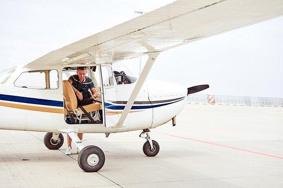 私人飛機上的加的夫飛行之旅照片