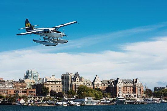 バンクーバーからビクトリアへの水上飛行機フライト