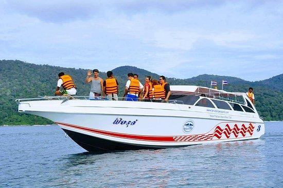 Pakbara Pier à Koh Lipe par Satun Pakbara Bateau à moteur