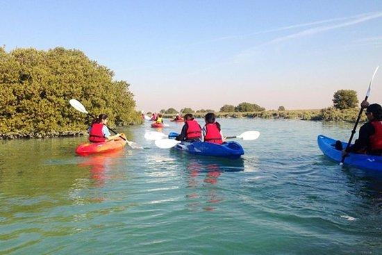 Excursion privée à la forteresse d'Al Zubarra et kayak à Al Thahkira...