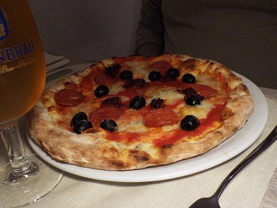 Pizza Vulcano. Il nome la dice tutta