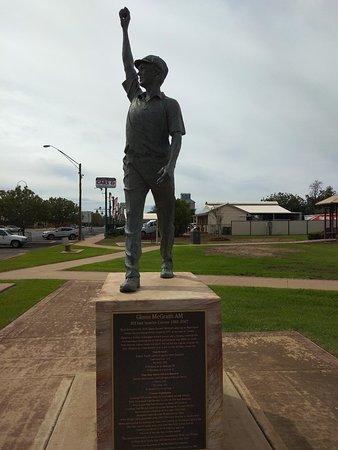 Narromine, Австралия: Glen in his glory pose