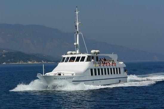 Ferry à destination de Samos au...