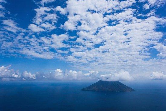 Les volcans de Sicile en hélicoptère au départ de Taormine