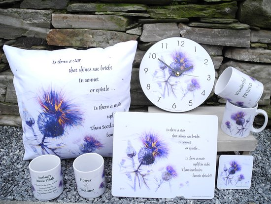 Keith, UK: Epistles & Thistles - our latest range of homeware, designed by and available only from Mither Tongue.