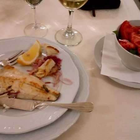 Frascati, Olaszország: Local food with sea food Villa Tuscolana Hotel