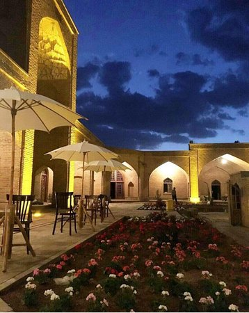 Marand, Iran: this caravanserai has 21 room for travelers.i would recommend you at least for 1 night try it..i promise you will love it.