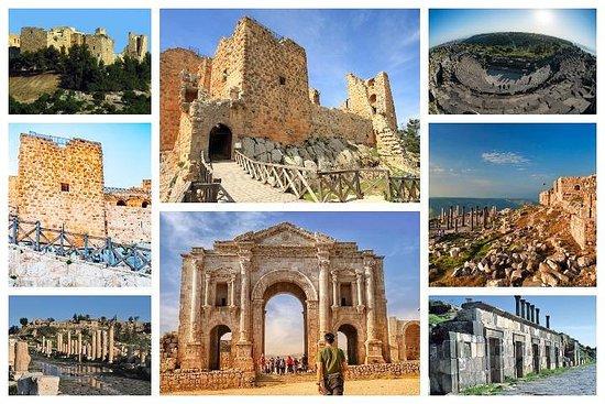 One Day Tour Jerash, Ajloun and Umm Qais from Amman