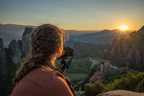 Sunset Meteora Private Photography Tour Photo