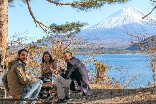 Barbecue fait maison au Mont Fuji...