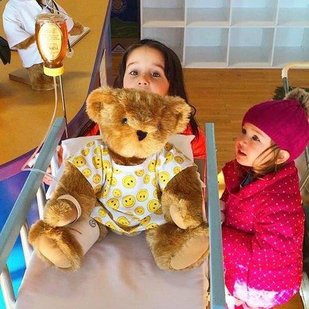 Visiting the Bear Hospital