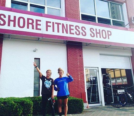 Bradley Beach, NJ: Front of gym