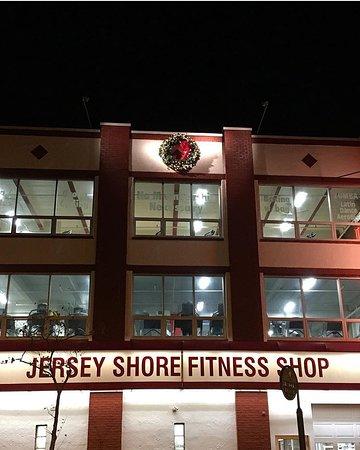 Bradley Beach, NJ: Outside of gym