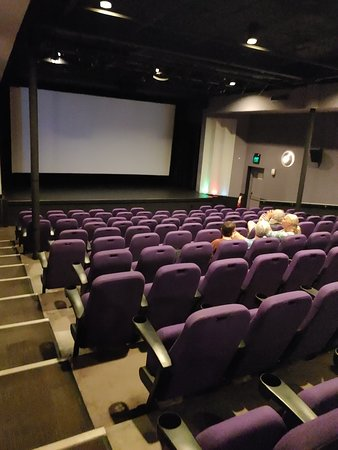 Tropic Cinema: Even the largest auditorium is small by multiplex standards.