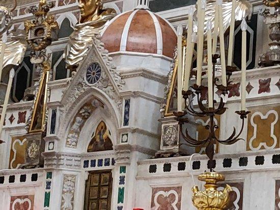 Φλωρεντία, Ιταλία: Detalle del altar mayor.