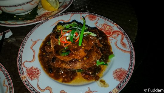 County Durham, UK: Osso Bucco Black Bean veal