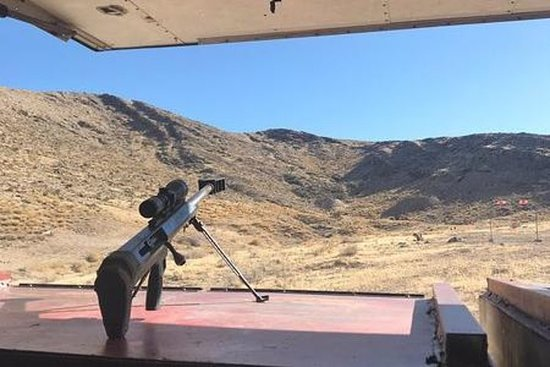 Sniper Experience Forfait de tir en plein air à Adrenaline Mountain