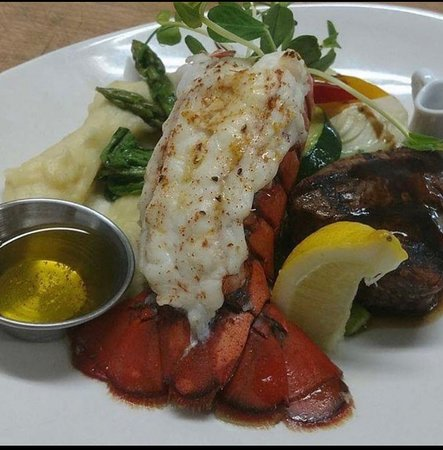 Surf and turf ! Available every Monday, Tuesday and Wednesday for $29