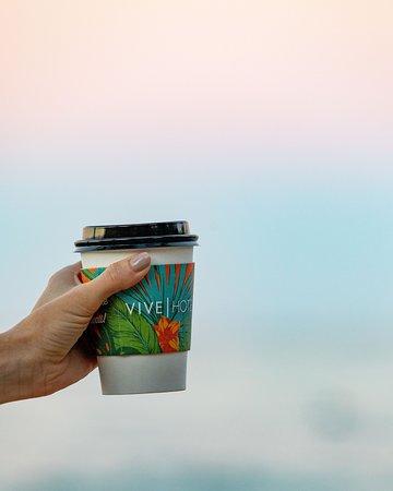 24 hours fresh hot Kona coffee