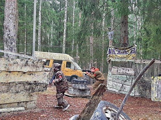 Μινσκ, Λευκορωσία: Лазертаг