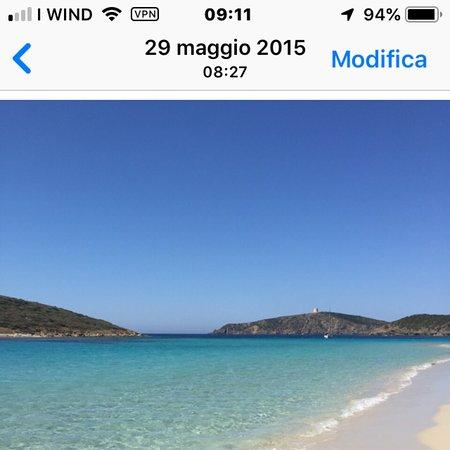 Province of Cagliari, Italie : Sardegna Chia spiaggia da sogno mare da bere