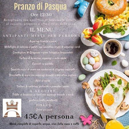 Pranzo di Pasqua 2020