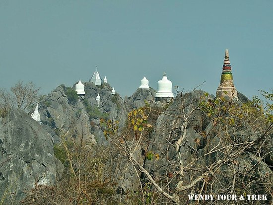 Chae Hom, Thailand: Amazing & Unseen Temple at Phrabat Puphadaeng & Chaeson National Park  🚐 Service by Wendy Tour & Trek