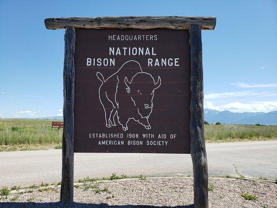 Moiese, Монтана: National Bison Range Montana