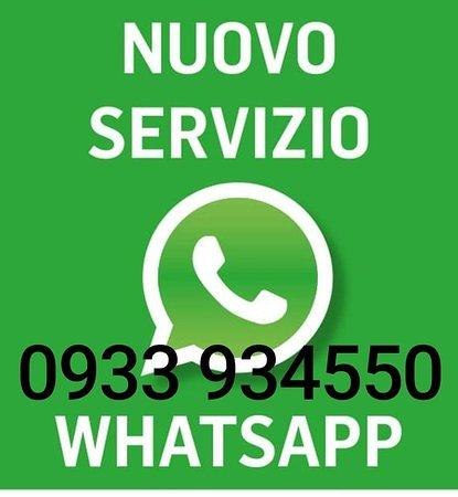 Servizio prenotazione whatsapp