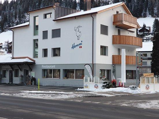Churwalden, İsviçre: Restaurant Hemmi