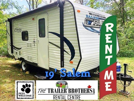 Waubaushene, Канада: 19' Salem is a pet friendly