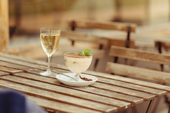 Tiramisu and wine? Ideal duet :)