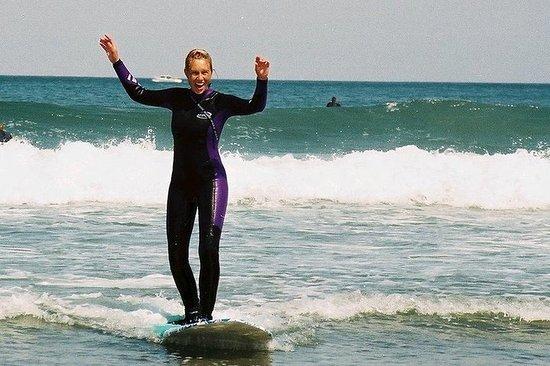 Beginner Surfing in San Francisco (Pacifica Beach)