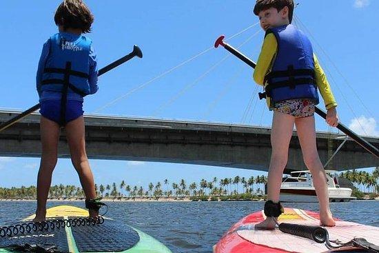 Stand up Paddle en el río Jaboatão...