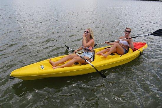 Tandem Kayak Rental through the Floridian Spruck Creek