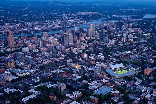 40-minute Aerial Tour of Portland