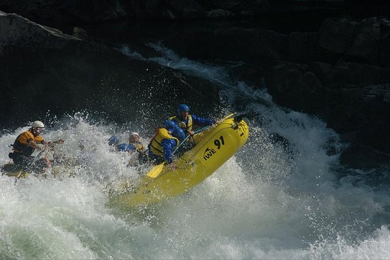 Guaranteed Addiction Full Day Rafting on Clearwater River with Lunch