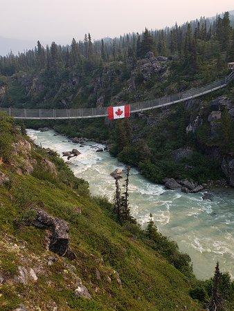 Stikine Region, Canada: Yukon Suspension Bridge