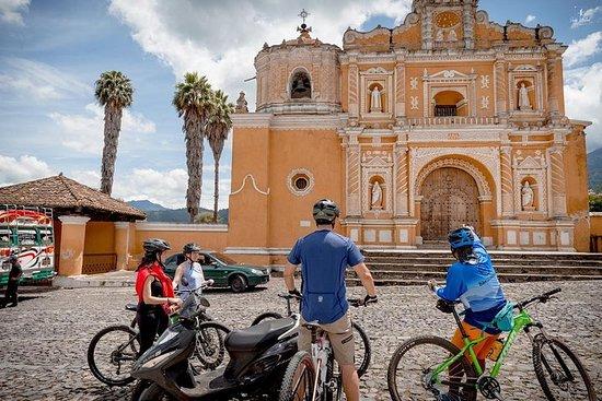 Radtour nach Antigua Dörfer von Guatemala-Stadt